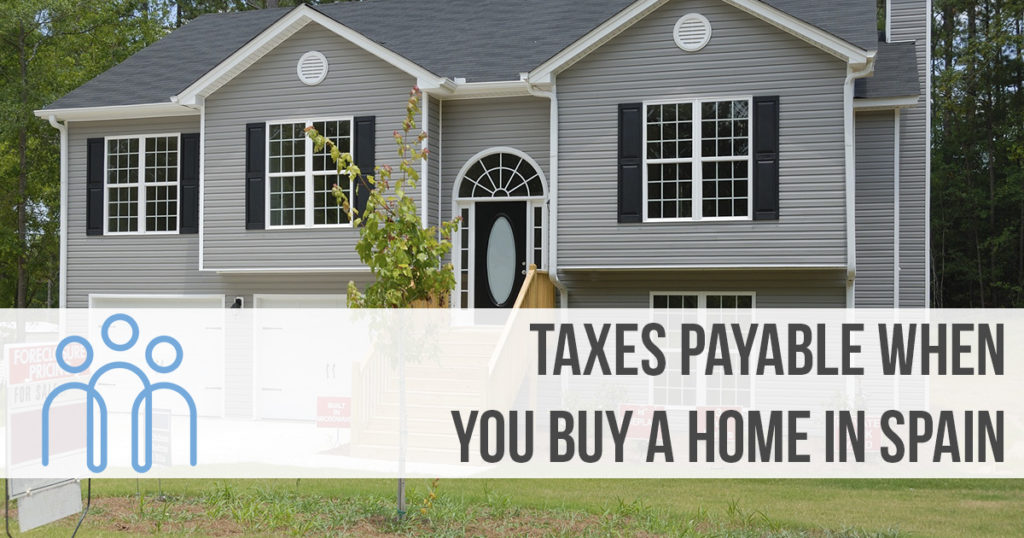 how much tax do you pay on spanish property