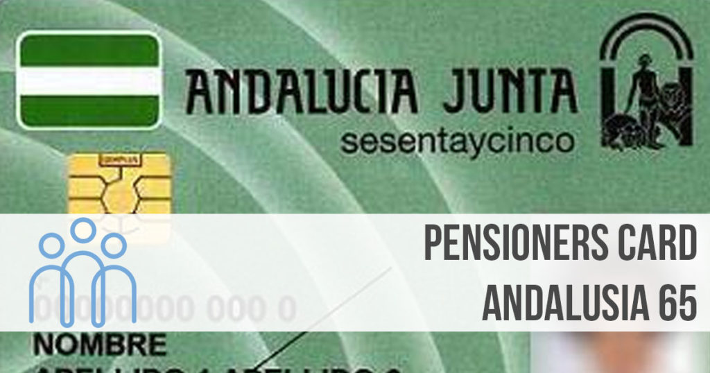 pensioners card andalucia spain
