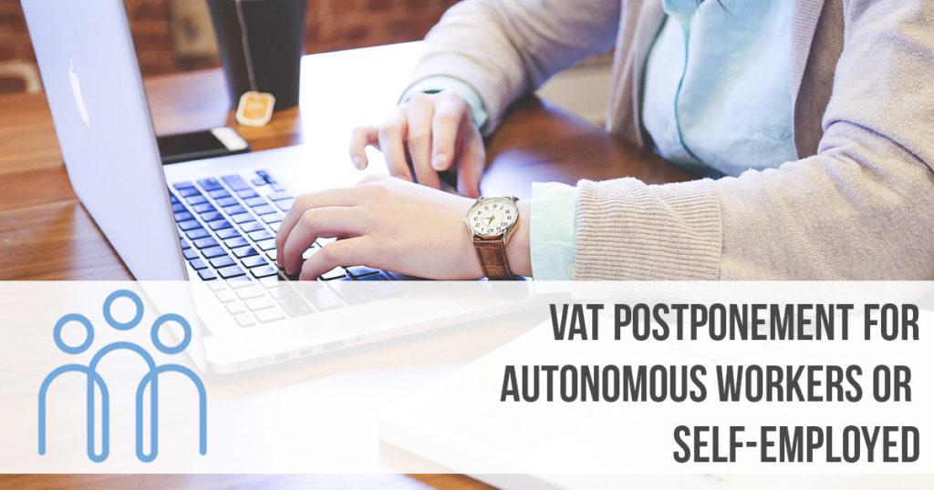 vat postponement self employed spain